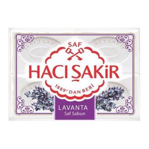 Haci Sakir Lavanta Beyaz Kalip Sabun 4X150 g