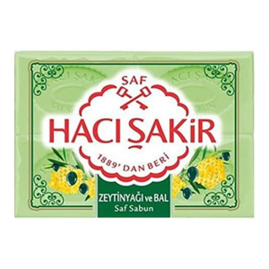 Haci Sakir Olivenöl und Honig Seife 4 x 150 g