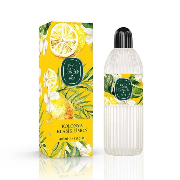 Eyüp Sabri Tuncer Klasik Limon Kolonya - Eau de Cologne Klasik Zitrone Duftwasser Kolonya 400 ml