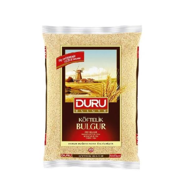 Duru Köftelik Bulgur 5 kg - Duru Hartweizengrütze Fein 5 Kg
