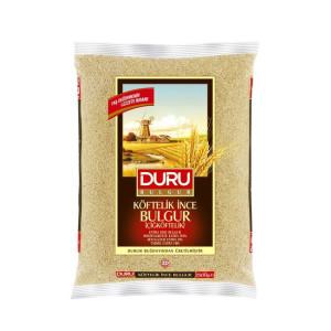 Duru Köftelik Ince Bulgur (Cigköftelik) 2,5 kg...