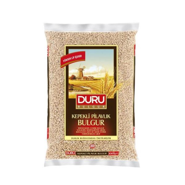 Duru Kepekli Pilavlik  Bulgur 1 kg - Duru Vollkorn Weizengrütze Grob 1 kg