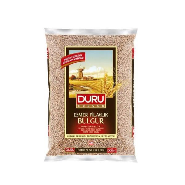 Duru Esmer Pilavlik Bulgur 1 kg - Duru Braune Grob-Weizengrütze 1 Kg