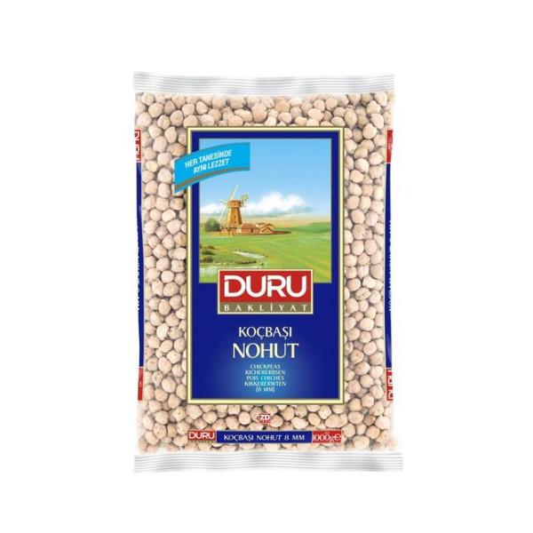 Duru Kocbasi Nohut 8 mm 1 kg - Duru Kichererbsen 8 mm 1 Kg