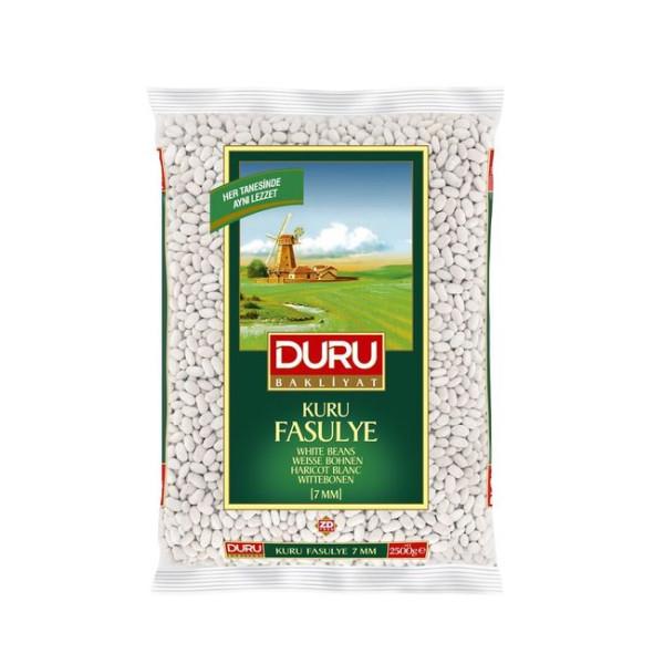 Duru Kuru Fasulye - Weiße Bohnen (7 mm) 2,5 kg