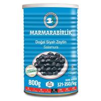 Marmarabirlik Dogal Siyah Zeytin XS Extra 800 g