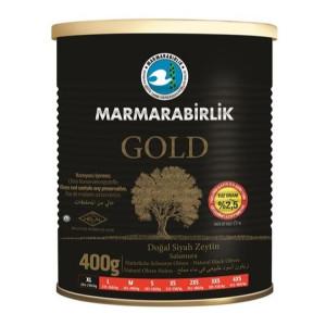 Marmarabirlik Gold Siyah Zeytin - Schwarze Oliven 400 g