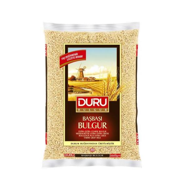 Duru Basbasi Bulgur 5 kg - Duru Hartweizengrütze Extra Extra Grob 5 Kg