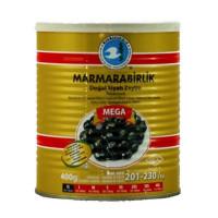 Marmarabirlik Siyah Zeytin - Schwarze Oliven XL Mega 400 g