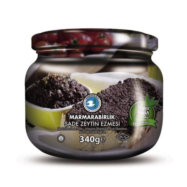 Marmarabirlik Zeytin Ezmesi - Schwarze Olivenpaste 340 g