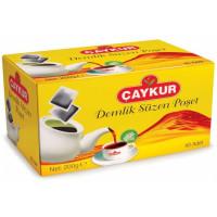 Caykur Siyah Demlik Poset Cay - Schwarzer Beuteltee 40 Stück