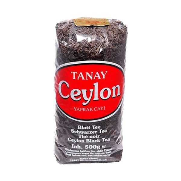 Tanay Ceylon Yaprak Cay - Schwarzer Tee 500 g