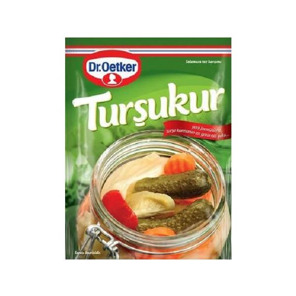Dr. Oetker Tursukur - Würzmischung zum Einlegen von Gemüse 100 g