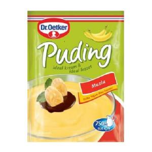 Dr. Oetker Muzlu Puding - Bananenpudding 120 g