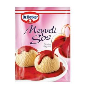 Dr. Oetker Meyveli Sos - Früchte Dessert Soße...