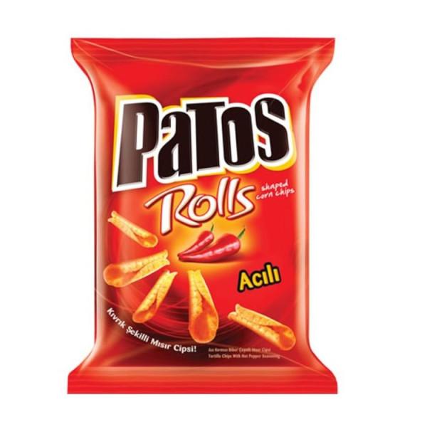 Patos Rolls, Aci Kirmizi Biber Aromali, Hot Pepper Flavour 120 g