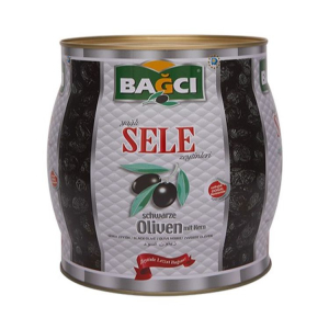 Bagci Gemlik Siyah Sele Zeytini Fici 1500 g