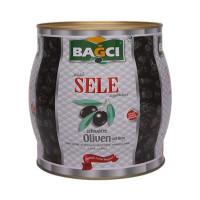 Bagci Sele Siyah Zeytin - Schwarze Oliven Sele Fass 1,5 kg