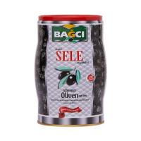 Bagci Sele Siyah Zeytin - Schwarze Oliven Sele Fass 750 g