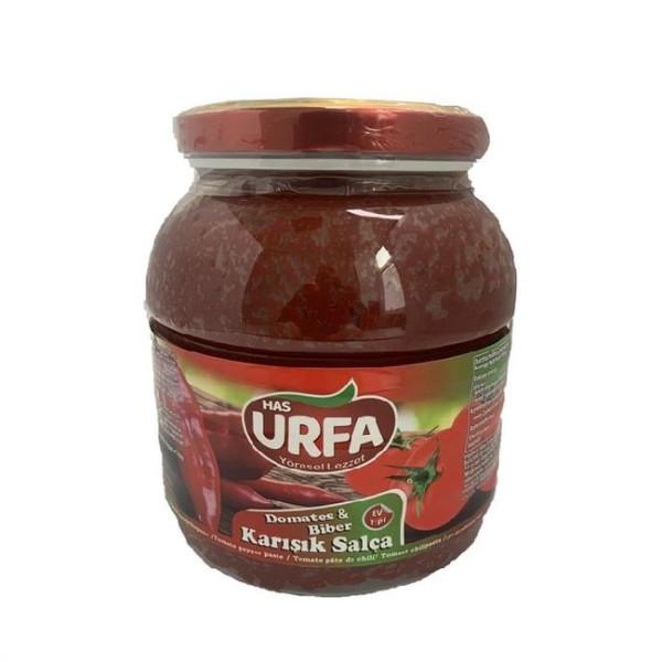 Has Urfa - Karisik Salca (gemischt)  - Tomatenpaprikapaste 1,65 kg