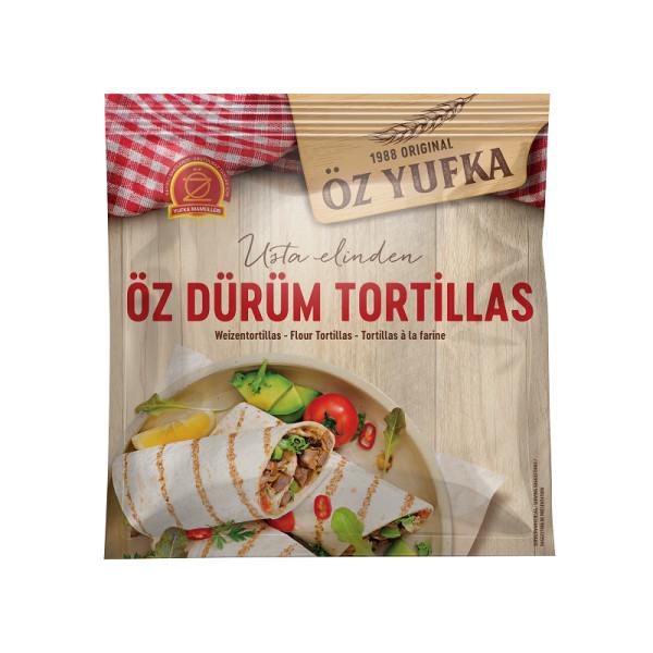 Öz Yufka Dürüm Tortillas - Weizentortilla Wrap 16 x Ø 20 cm
