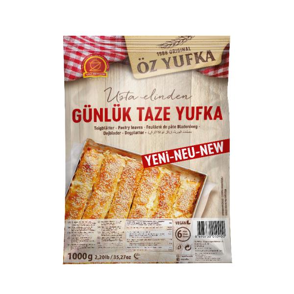 Öz Yufka Günlük Taze Yufka - Teigblätter Filoteig 6 Stück 1000 g