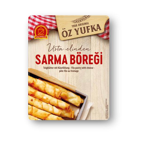 Öz Yufka Peynirli Sigara Böregi Sarma Böregi - Teigblätter mit Käsefüllung 12 Stück 400 g
