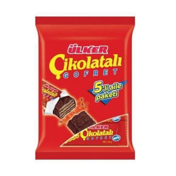 Ülker Cikolatali Gofret  Schokoladenwaffel 180 g