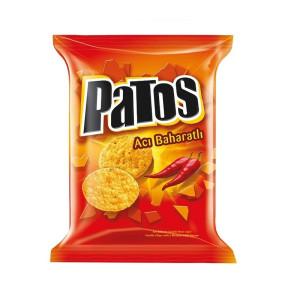 Patos acili Misir Chips 120 g  - Mais Snacks mit Chilli...